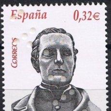 Sellos: ESPAÑA 2009 EDIFIL 4500 SELLO ** PERSONAJES LOUIS BRAILLE (1809-1852) PROFESOR FRANCES 0,32€ SPAIN . Lote 183208488
