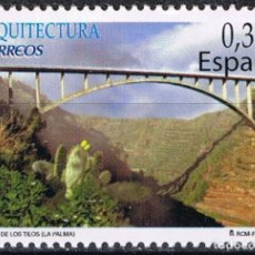 Sellos: ESPAÑA 2009 EDIFIL 4505 SELLO ** ARQUITECTURA PUENTE DE LOS TILOS LA PALMA 0,32€ SPAIN STAMPS TIMBRE. Lote 183209005