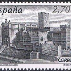 Sellos: ESPAÑA 2009 EDIFIL 4511 SELLO ** ARQUITECTURA CASTILLO DE JAVIER NAVARRA 2,70€ SPAIN STAMPS TIMBRE. Lote 183209250