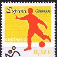 Sellos: ESPAÑA 2009 EDIFIL 4514 SELLO ** EFEMERIDES CENTENARIO REAL FEDERACION ESPAÑOLA DE FUTBOL SPAIN. Lote 183209497