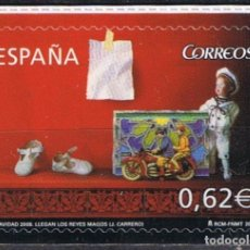 Sellos: ESPAÑA 2009 EDIFIL 4521 SELLO ** CHRISTMAS NOEL NAVIDAD LLEGAN LOS REYES MAGOS (J. CARRERO) SPAIN. Lote 183209863