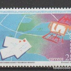 Sellos: 1993.- . DÍA DE LAS TELECOMUNICACIONES.. Lote 183279448