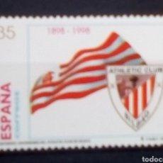 Sellos: ESPAÑA CENTENARIO DEL ATHLETIC DE BILBAO SELLO NUEVO. Lote 183317136