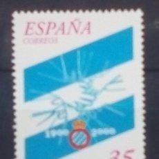 Sellos: ESPAÑA FUTBOL CENTENARIO RCD ESPANYOL SELLO NUEVO. Lote 183317786