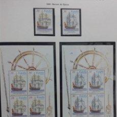 Sellos: ESPAÑA 1995 - BARCOS DE EPOCA - EDIFIL Nº 3352-3353. NUEVO. Lote 183318058
