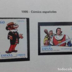Sellos: ESPAÑA 1995. COMICS ESPAÑOLES EDIFIL 3359-3360. NUEVO. Lote 183324817