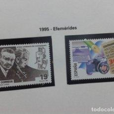 Sellos: ESPAÑA 1995. EFEMÉRIDES. EDIFIL 3362, 3363. NUEVO. Lote 183325182