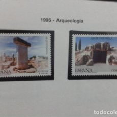 Sellos: ESPAÑA 1995. EDIFIL 3395, 3396 - 1995 - ARQUEOLOGIA. NUEVO. Lote 183330721