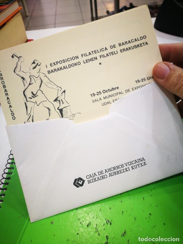 Sellos: I EXPOSICIÓN FILATELICA DE BARACALDO 1981 - Foto 7 - 183480158