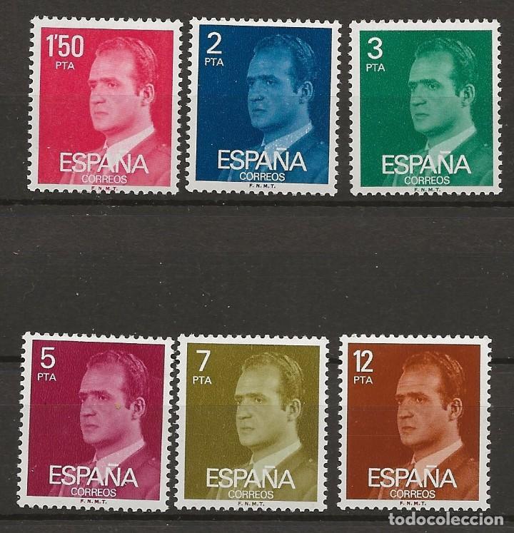 R35.BAUL/ ESPAÑA 1976. S.M. DON JUAN CARLOS I, NUEVOS** (Sellos - España - Juan Carlos I - Desde 1.975 a 1.985 - Nuevos)