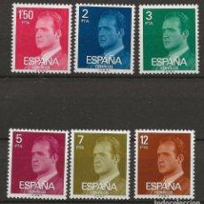 Sellos: R35.BAUL/ ESPAÑA 1976. S.M. DON JUAN CARLOS I, NUEVOS**. Lote 183602128