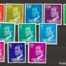 Sellos: R35.BAUL/ ESPAÑA 1977, S.M. DON JUAN CARLOS I, NUEVOS **. Lote 183602717