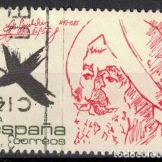 Sellos: ESPAÑA 1985 - EDIFIL 2806- USADO. Lote 183611490