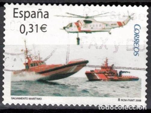 ESPAÑA 2008 - EDIFIL 4399 USADO (Sellos - España - Juan Carlos I - Desde 2.000 - Usados)