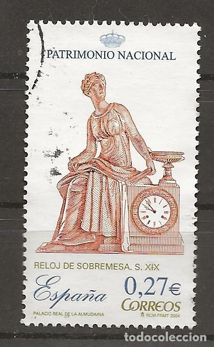 R35/ ESPAÑA USADOS 2004, PATRIMONIO NACIONAL, RELOJES (Sellos - España - Juan Carlos I - Desde 2.000 - Usados)