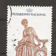 Sellos: R35/ ESPAÑA USADOS 2004, PATRIMONIO NACIONAL, RELOJES. Lote 183817645