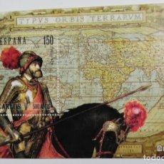 Selos: HOJA BLOQUE CON SELLO DE CARLOS V EMPERADOR . Lote 183931980