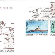 Sellos: ESPAÑA 1991 - SOBRES PRIMER DIA - EDILFIL 3104/06. Lote 184627900