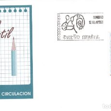 Sellos: ESPAÑA 1991 - SOBRES PRIMER DIA - EDILFIL 3107. Lote 184627937