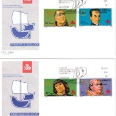 Sellos: ESPAÑA 1991 - SOBRES PRIMER DIA - EDILFIL 3137/40. Lote 184628186