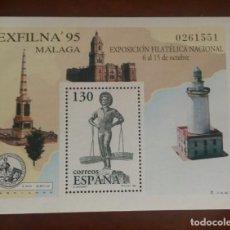 Sellos: ESPAÑA 1995.EDIFIL 3393. EXPOSICIÓN FILÁTELICA NACIONAL -EXFILNA 95. Lote 184753897