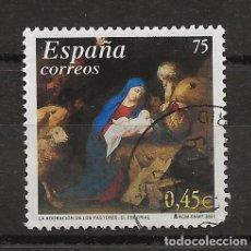 Sellos: R35/ ESPAÑA USADOS 2001, NAVIDAD. Lote 184754145