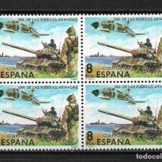 Sellos: ESPAÑA 1980 EDIFIL 2572 BLOQUE 4 ** - 10/32. Lote 184771468