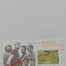 Sellos: HOJA BLOQUE NUEVA MÚSICA ESPAÑOLA EL CANTO DEL LOCO MÁLAGA 2006. Lote 185677670