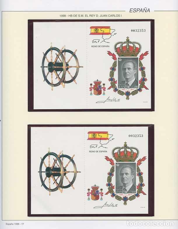 Sellos: España 1998 - AÑO COMPLETO - MNH - Montado en hojas FILABO - Foto 18 - 185684967