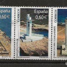 Sellos: R35/ ESPAÑA USADOS 2008, FAROS. Lote 185704670