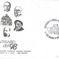 Sellos: 0728. CARTA MADRID 1997. FILATELIA 97, CENTENARIO DEL 98. AZORIN. Lote 185720177