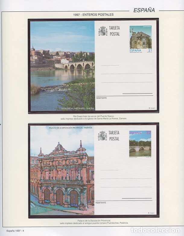 Sellos: España 1997 - AÑO COMPLETO - MNH - Montado en hojas FILABO - Foto 4 - 185720948