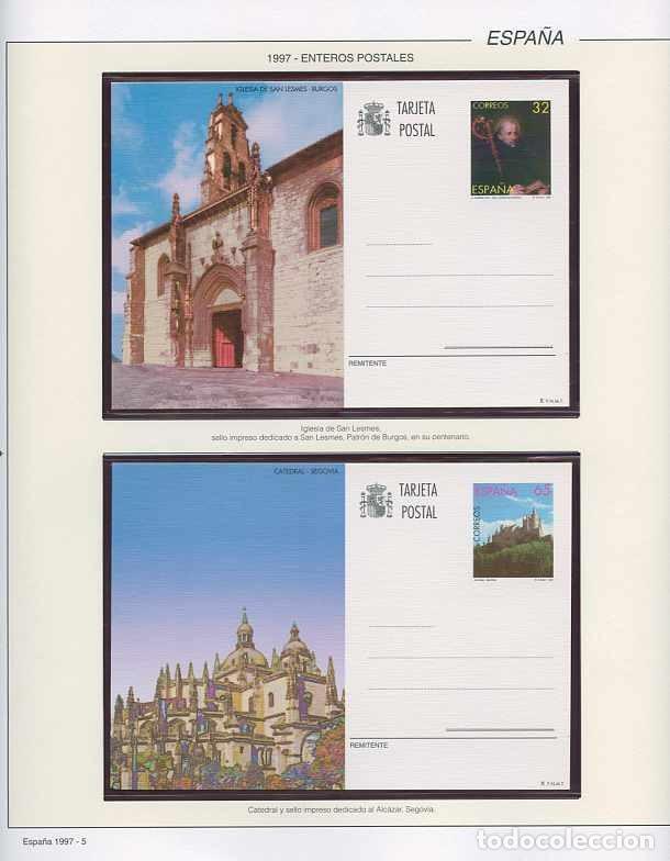 Sellos: España 1997 - AÑO COMPLETO - MNH - Montado en hojas FILABO - Foto 5 - 185720948