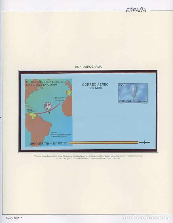 Sellos: España 1997 - AÑO COMPLETO - MNH - Montado en hojas FILABO - Foto 8 - 185720948