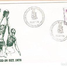 Sellos: ESPAÑA 1978 - SOBRES EXP. FILATELICA CALELLA. Lote 185726775