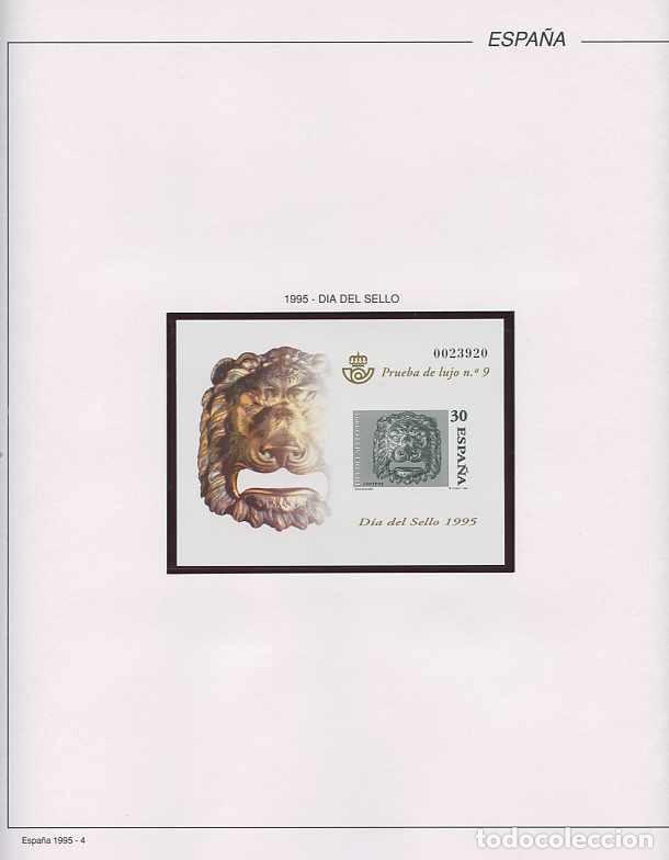 Sellos: España 1995 - AÑO COMPLETO - MNH - Montado en hojas FILABO - Foto 5 - 185789277