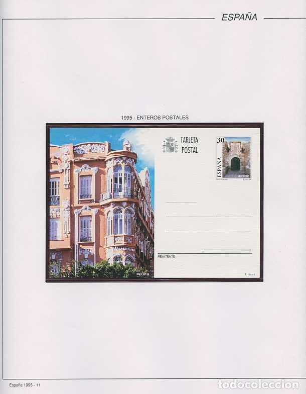Sellos: España 1995 - AÑO COMPLETO - MNH - Montado en hojas FILABO - Foto 12 - 185789277