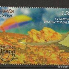 Sellos: R13/ ESPAÑA 2019 MNH**, COMIDAS TRADICIONALES. Lote 186003112