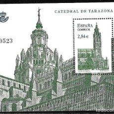 Sellos: ESPAÑA 2011. CATEDRAL DE TARAZONA. HB EDIFIL 4679. NUEVO MNH. Lote 186063401