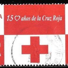 Timbres: ESPAÑA 2013. 150 AÑOS DE LA CRUZ ROJA. EMISIÓN CONJUNTA ESPAÑA - BÉLGICA. EDIFIL 4828. Lote 186063883