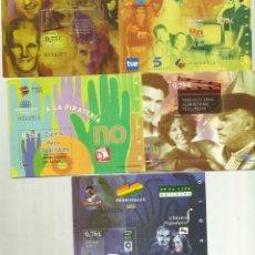 Sellos: 5 HB 2002, 5 SELLOS DE 0,75 EUROS 30% DESCUENTO COLECCIONISMO O FRANQUEO. Lote 186088956