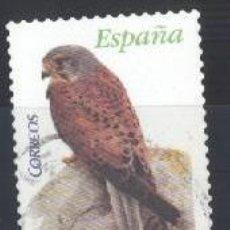Sellos: ESPAÑA - AÑO 2008 - EDIFIL 4377 - FAUNA - CERNÍCALO - USADO. Lote 187095386
