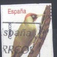 Sellos: ESPAÑA - AÑO 2008 - EDIFIL 4376 - FAUNA - PITO REAL - USADO. Lote 187096067