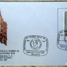 Sellos: SOBRES ESPAÑA 1989- FOTO 993- EXP. FILATELICA. Lote 187374356