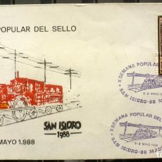 Sellos: SOBRES ESPAÑA 1988- FOTO 174 -SAN ISIDRO 88. Lote 187449973