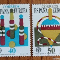 Sellos: N°3008/09 USADOS, EUROPA 1989. Lote 187589980