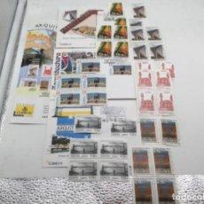 Sellos: ARQUITECTURA. 3 SOBRES PRIMER DIA Y SELLOS NUEVOS 6 BLOQUES DE 4 Y 6 DE 1. 26.04.2007. Lote 187590208