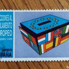 Sellos: N°3015 USADO, ELECCIONES AL PARLAMENTO EUROPEO 1989 (FOTOGRAFÍA ESTÁNDAR). Lote 187590781