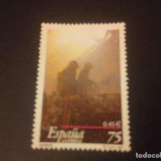 Sellos: ESPAÑA 2001, CUERPO DE BOMBEROS. Lote 187623405