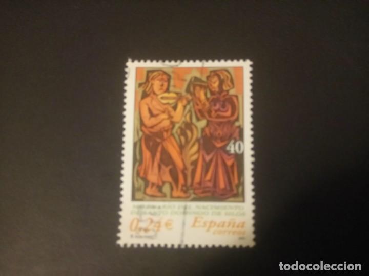 ESPAÑA 2001, MILENARIO DEL NACIMIENTO DE SANTO DOMINGO DE SILOS (Sellos - España - Juan Carlos I - Desde 2.000 - Usados)